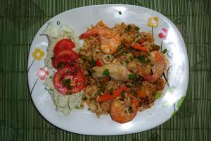 Rezept:Paella schnelle Reispfanne