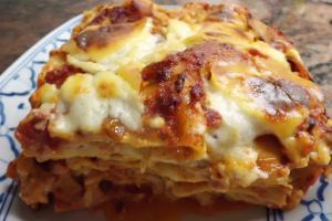 Rezept für Lasagne Bolognese