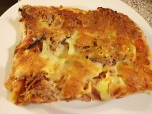 Rezept:1 Portion Pizza Thunfisch