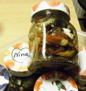 Rezept:Antipasti Vorspeise/ gefüllte Gläser mit Gemüse