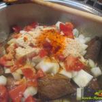 20150207_Angus Rindfleisch mit Pflaumen,Mandeln, Couscous und Zwiebelgemüse marokko_0003