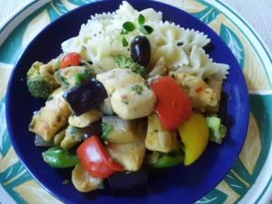 Fisch und Gemüse: Fisch-Gemüse-Pfanne
