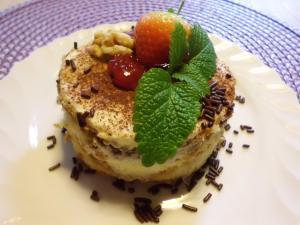 Tiramisu Nachtisch Törtchen ohne Alkohol ein himmlisches Dessert