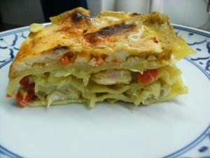 Lasagne-Rezept Curryhähnchen Hawaii