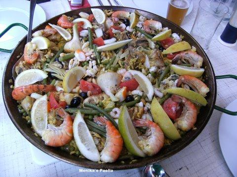 original spanische Paella a la Valenciana