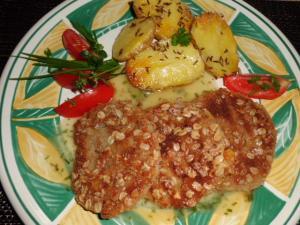 Rezept: vegetarisches Kohlrabi Rezept, Kohlrabischnitzel