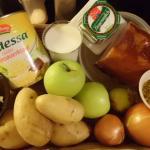 Warenkorb: Stamppot mit Sauerkraut und Kassler