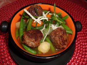 Rezept für eine frische Bohnensuppe