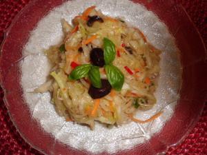 Rezept griechischer Krautsalat