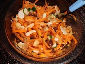Rezept für Möhrensalat marokkanischer Art