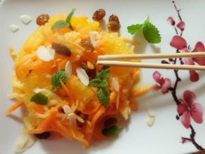 Möhren-Apfel Salat