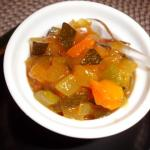 Zucchini Chutney für Bulgursalat