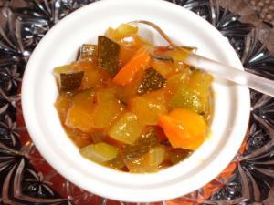 Zucchini Chutney indisch