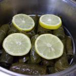 die Zitronenscheiben auflegen und mitziehen lassen