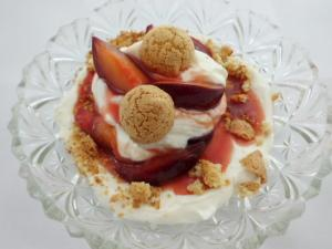 Mascarpone Creme kleine Portion