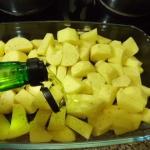 Pfeffern und mit 2El. Olivenöl vermischen