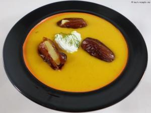 Hokkaido Suppe gefüllte Datteln
