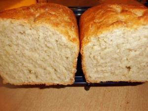 Weißbrot Rezept Kastenbrot halbiert