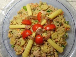 Bulgur Salat mit Thunfisch