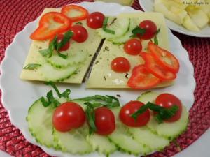 2. Tag Brot mit Käse