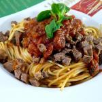 Spaghetti mit Pizzaiola Sauce