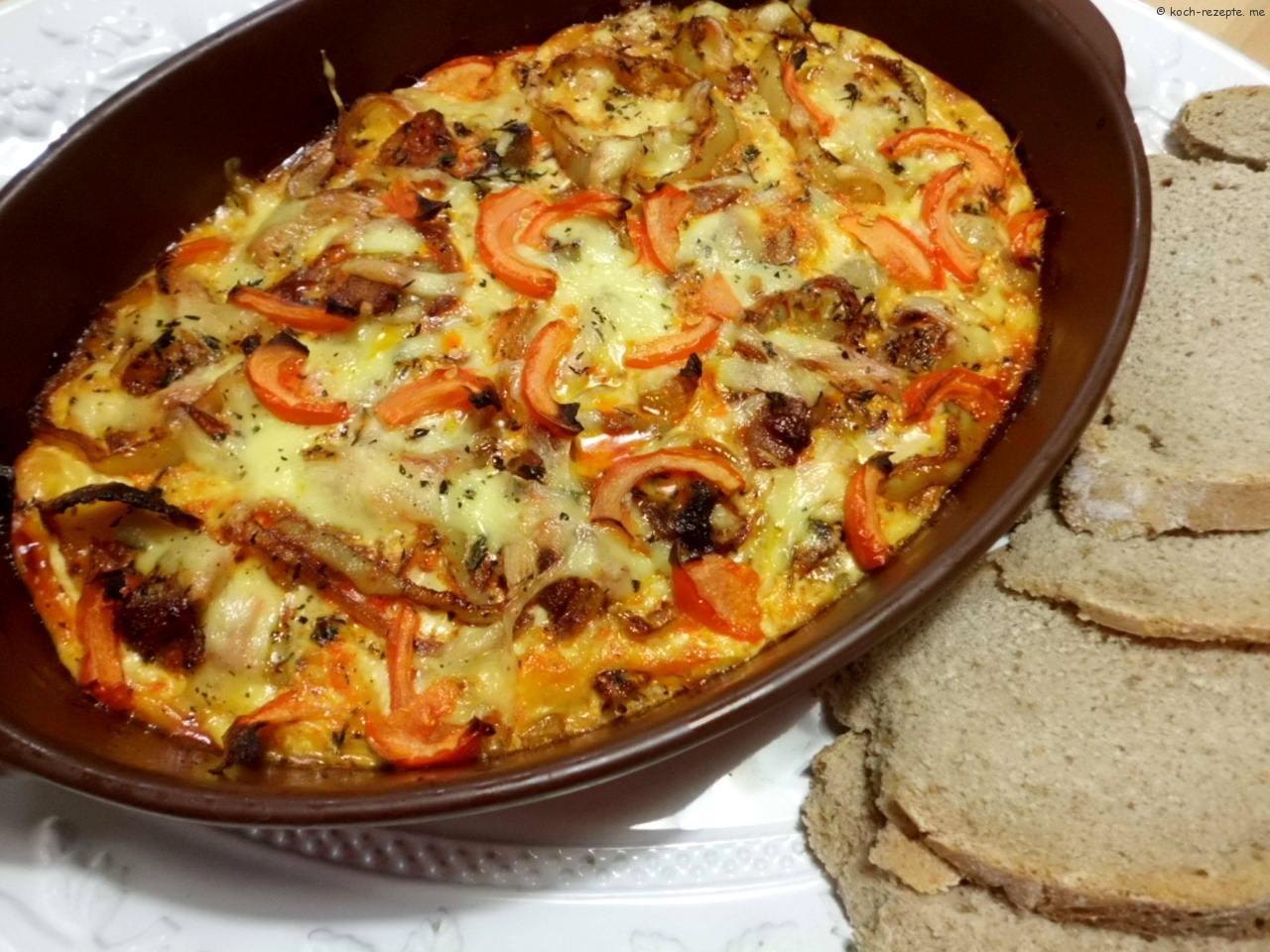 Sardinen Rezept Gebacken Nach Spanischer Art Mit Paprika