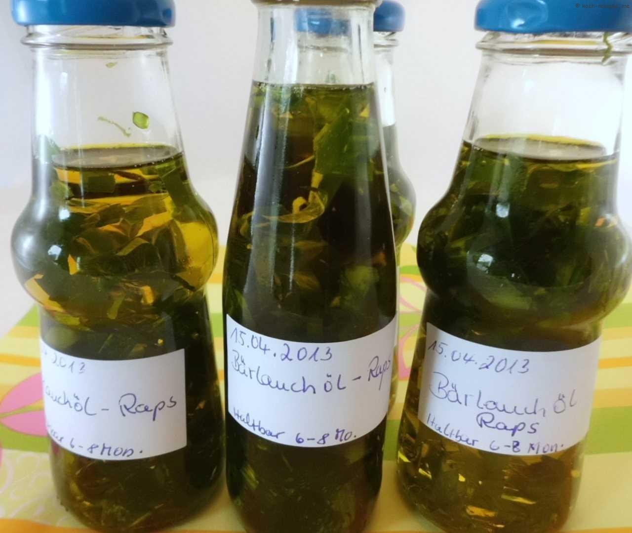 fertig nun noch 1 Woche dunkel und kühl lagern, wer mag nimmt das Bärlauchgrün aus den Gläsern.