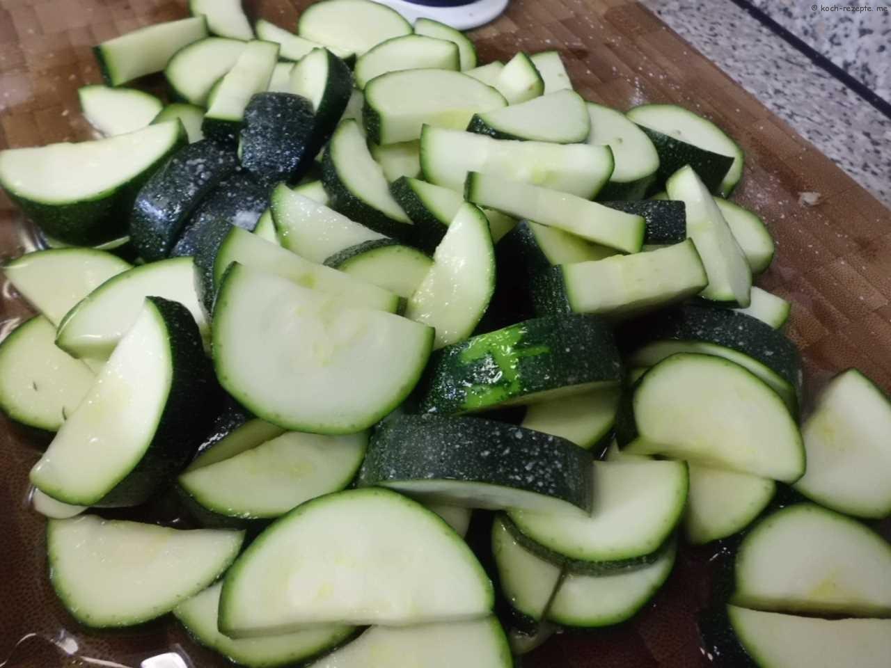 Zucchinigemüse