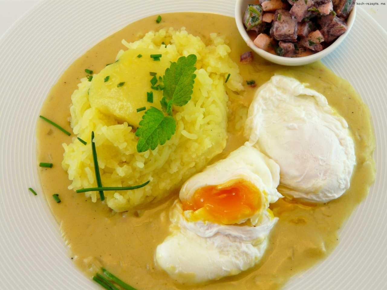 senfsauce mit eier pochiert kartoffeln eier in senfsauce. Black Bedroom Furniture Sets. Home Design Ideas