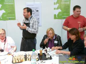 Käse und Marmelade zusammen testen  Samstag Bloggertreffen_$(S_04