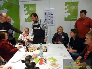 Käse und Marmelade zusammen testen  Samstag Bloggertreffen_$(S_05