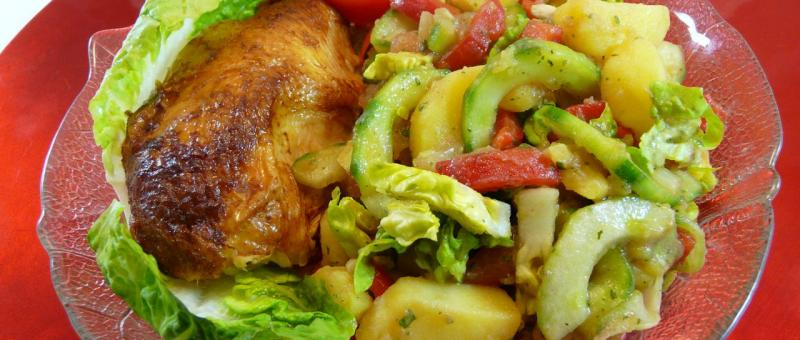 Kartoffelsalat Slowenisch Fanikas Art Celjekrompirjeva Solat