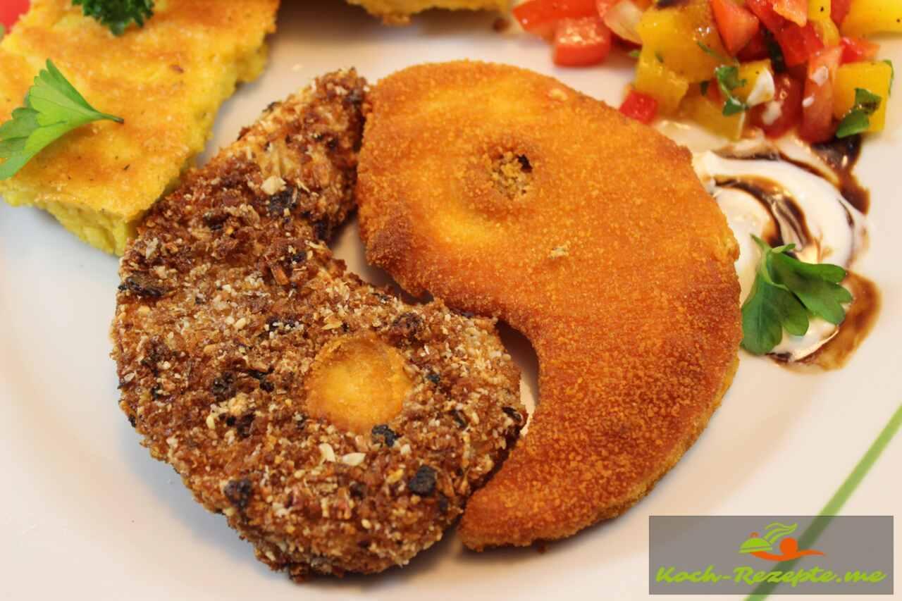 Sellerieschnitzel vegetarisch