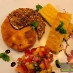 Yin&Yang Sellerieschnitzel mit Polentaschnitten