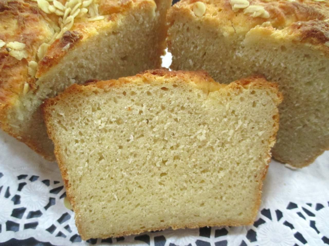 Apfelmus-Quark Brot