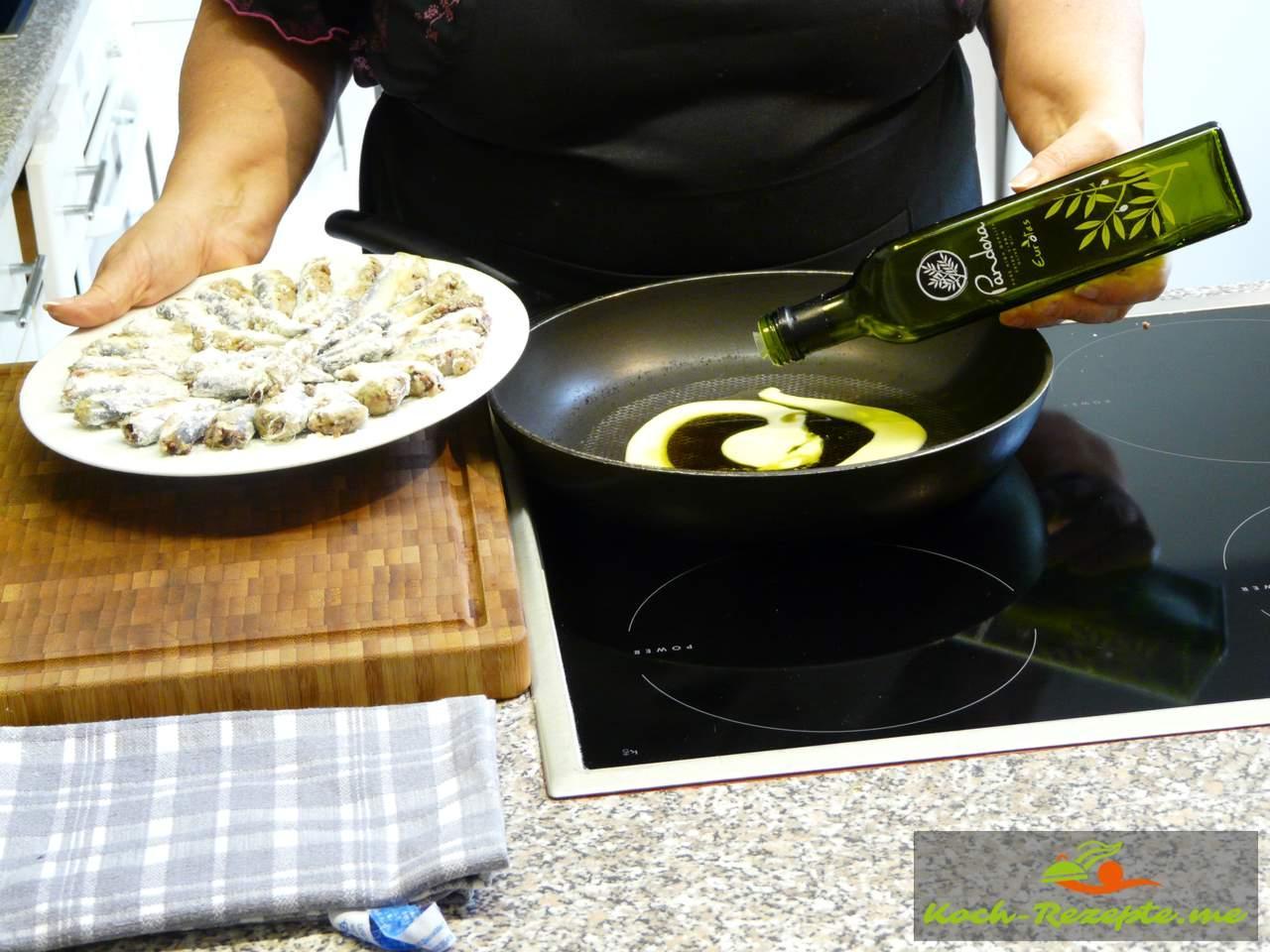 Mit gutem Olivenöl