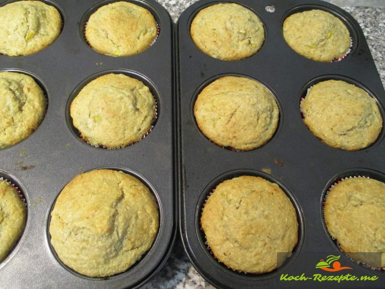 Super sehen die Mango Muffins aus.