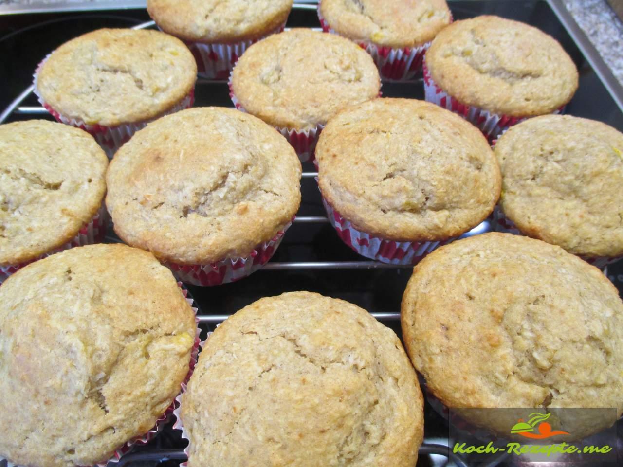 Leckere Mango Muffins  gebacken, getestet sind super lecker