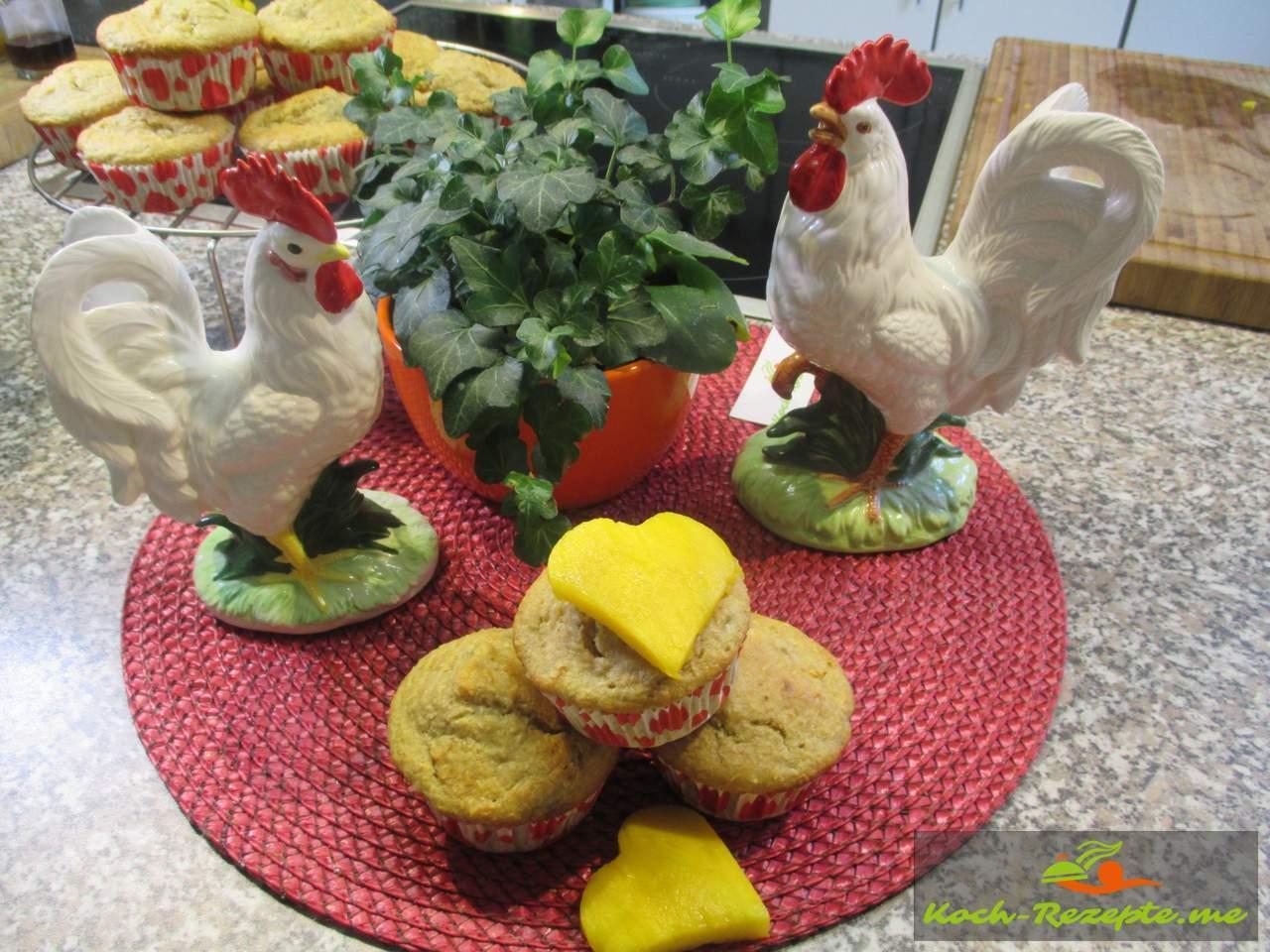Für Inge Mango Muffins