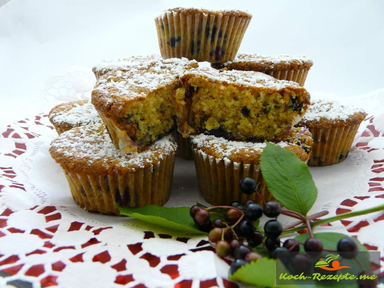 Holunderbeeren Muffins