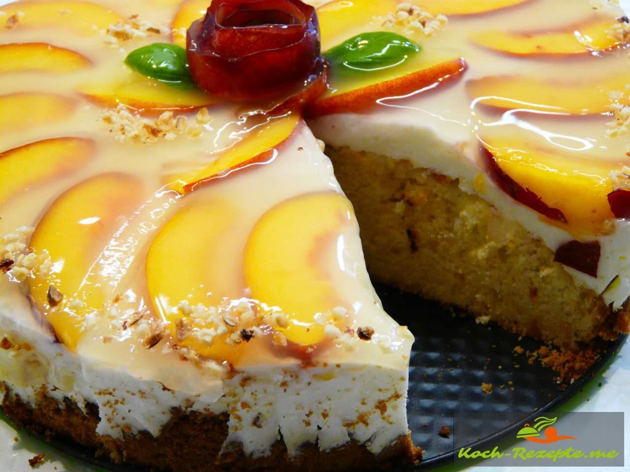 Joghurt Nektarinen Torte