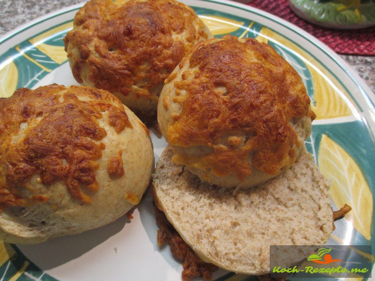 Dinkel Käsebrötchen