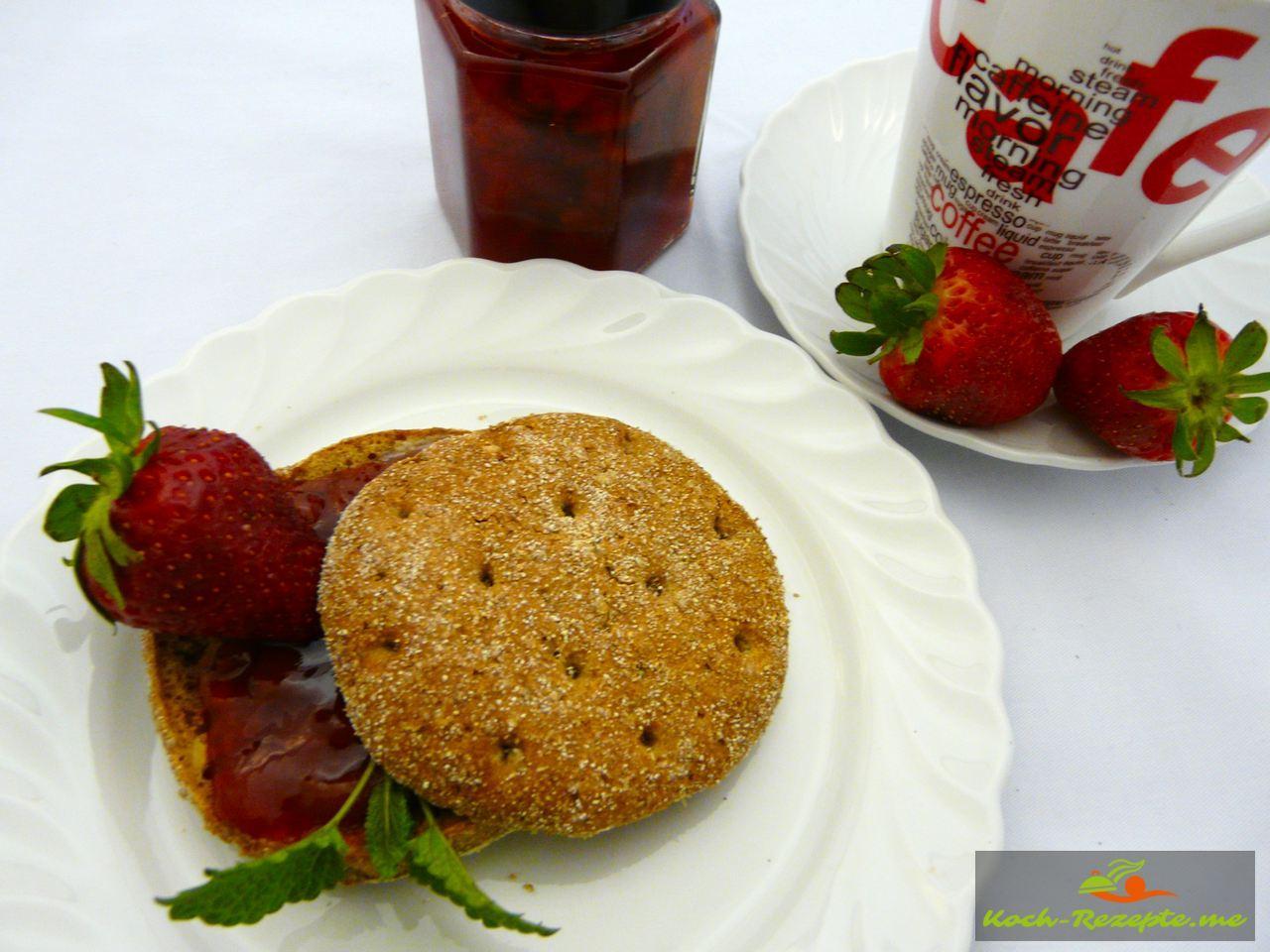 Brotaufstrich würzige Marmelade