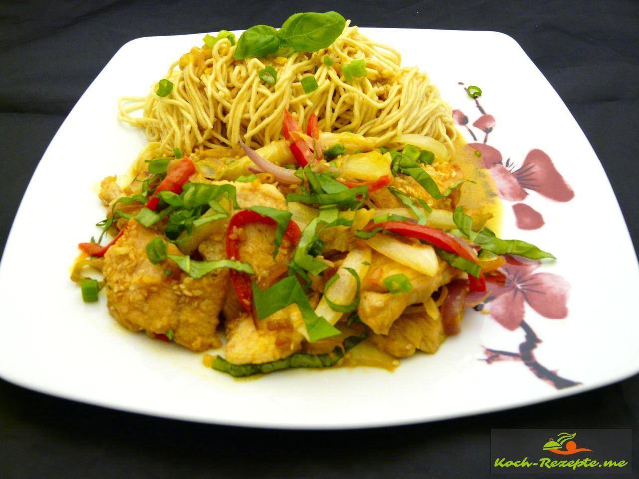 Curry-Huhn Thai
