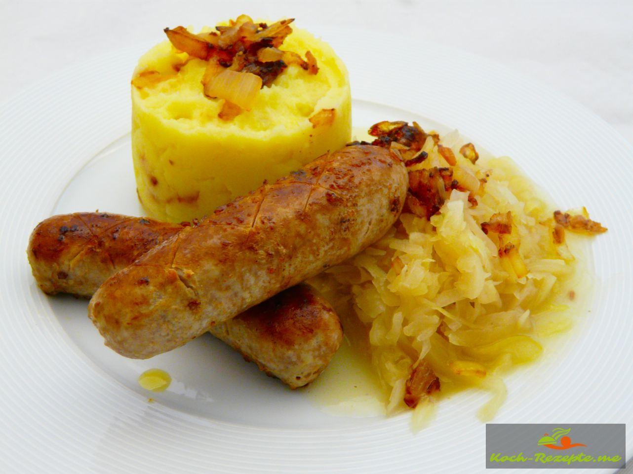 Zwiebel-Kartoffelpüree