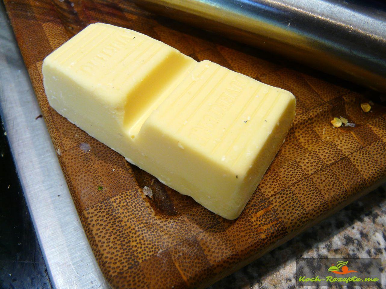 Weiße-Schokolade für die Süße