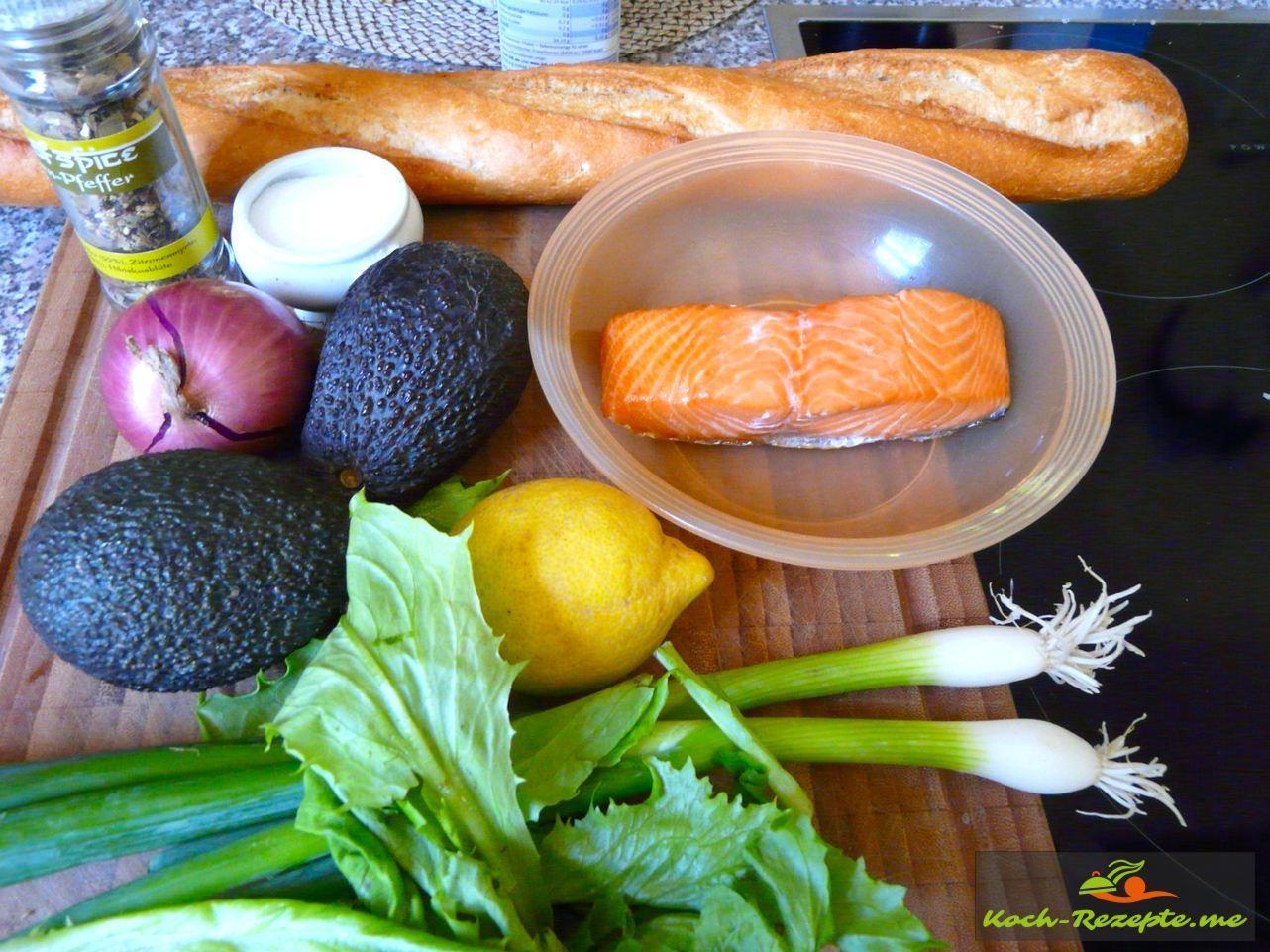 Avocado Lachs Tatar Rezept Fingerfood Einfach Und Schnell
