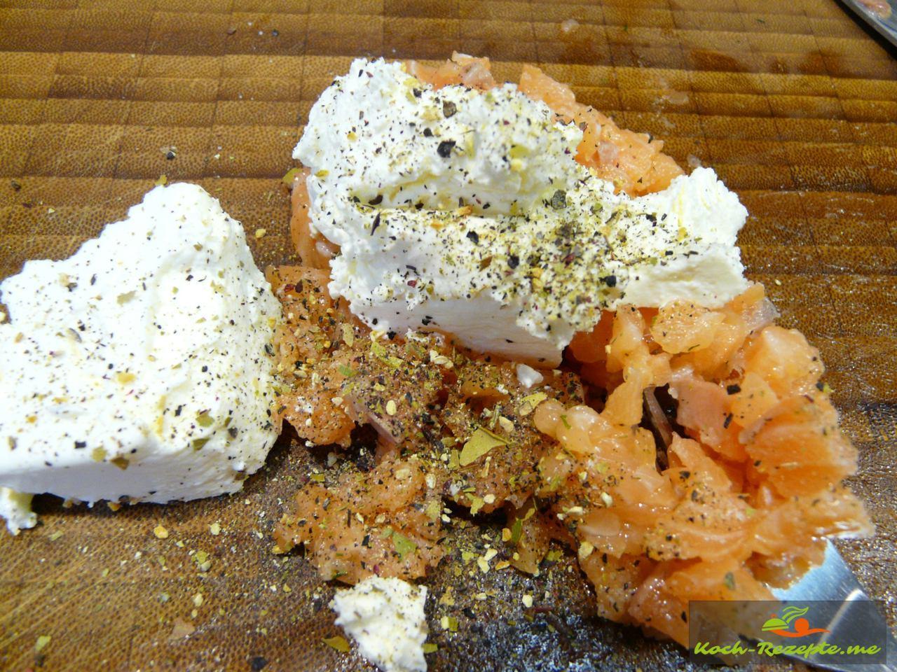 Lachstatar mit Frischkäse und Zitronen-Pfeffer von Spirit of Spice würzen