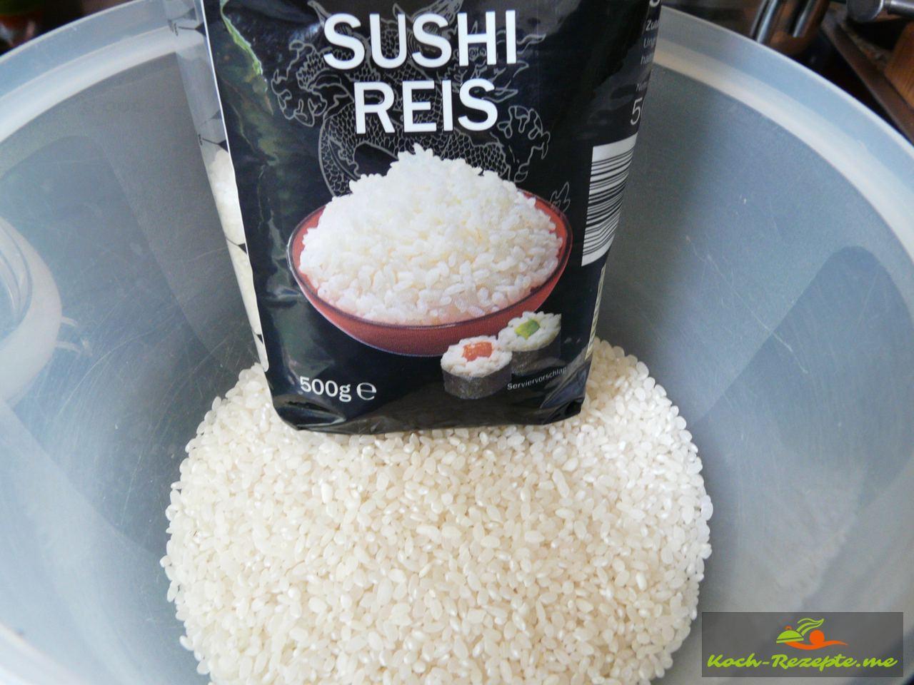 Sushi-Reis im Asialaden kaufen