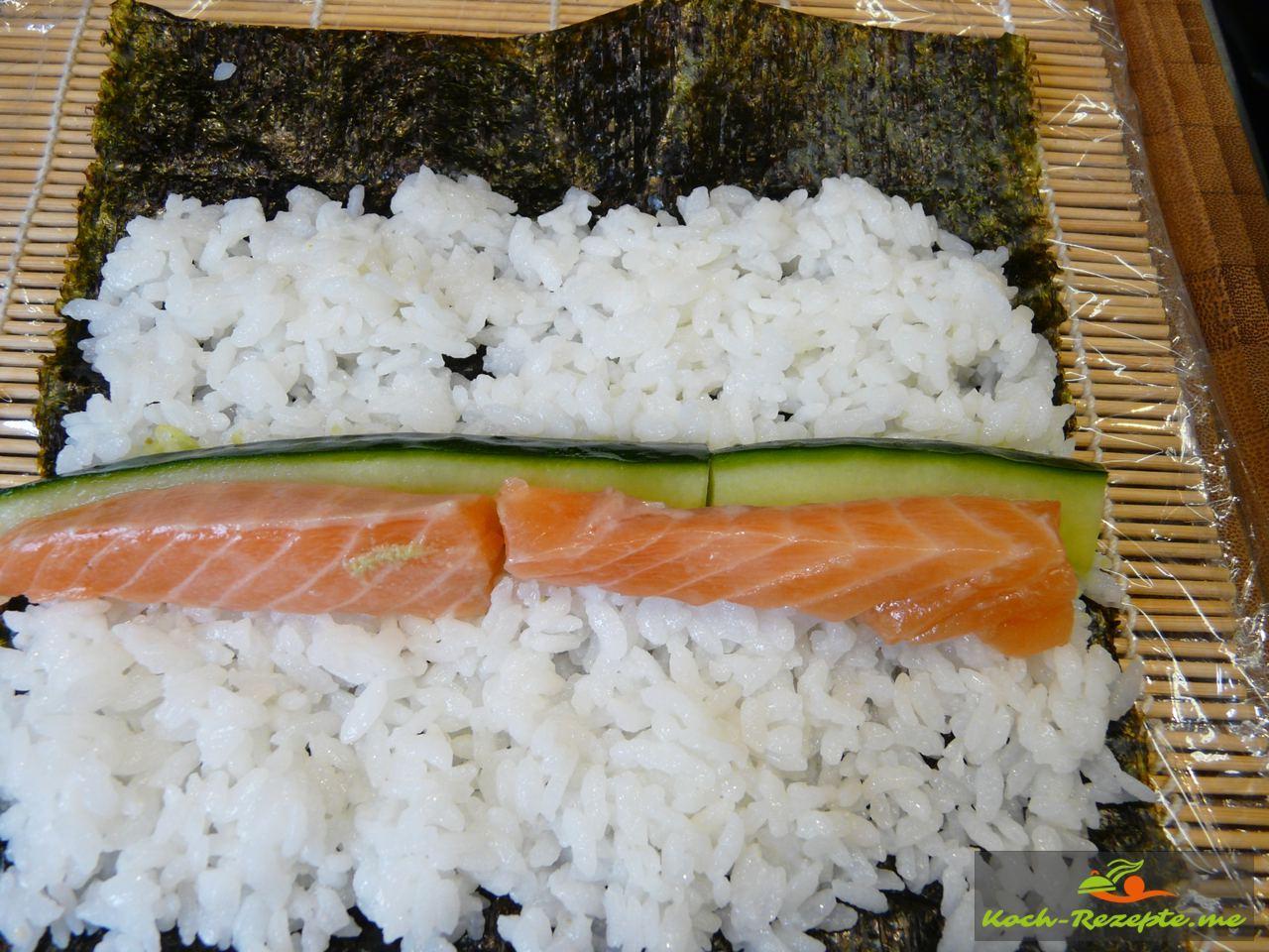 sushi reis kochen rezept anleitung mit fotos. Black Bedroom Furniture Sets. Home Design Ideas